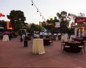 Neon Courtyard Kern County Museum